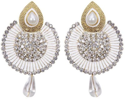 Styylo Fashion Diva Style Zircon Alloy Chandelier Earring at flipkart