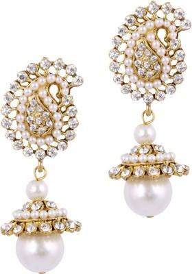 STYYLO FASHION Diva Style Pearl Alloy Jhumki Earring STYYLO FASHION Earrings