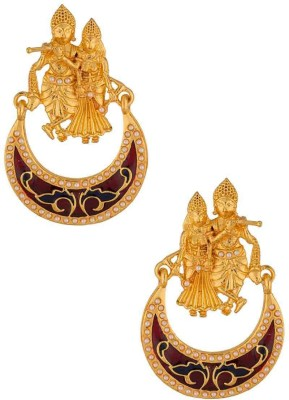Voylla Artificial Classic Enamel Alloy Dangle Earring at flipkart