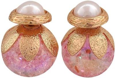 Maayra Sober Indian Crystal Alloy Stud Earring