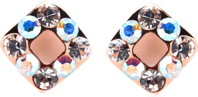 Diana Korr DKJ-E16 Crystal Alloy Stud Earring at flipkart