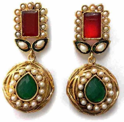 Aarnaa La Trendz Jaipur Gokru Alloy Drop Earring at flipkart