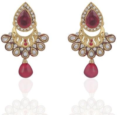 Adya Alloy, Enamel Drop Earring at flipkart