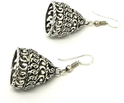 GoldNera Antique Grace Alloy Jhumki Earring GoldNera Earrings