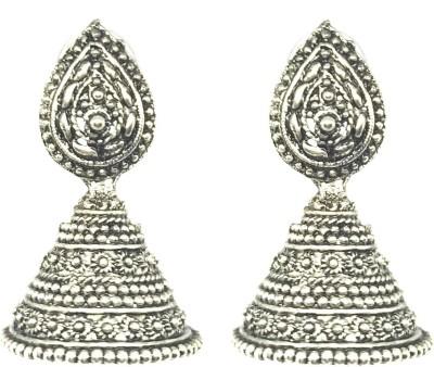 GoldNera Beautiful Alloy Jhumki Earring GoldNera Earrings