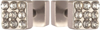 Men Style Hot Selling Crystal Square PSEr001014 Stainless Steel Stud Earring at flipkart