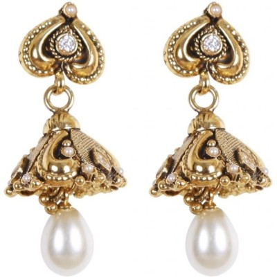 Rajwada Arts Brass Jhumki Earring at flipkart