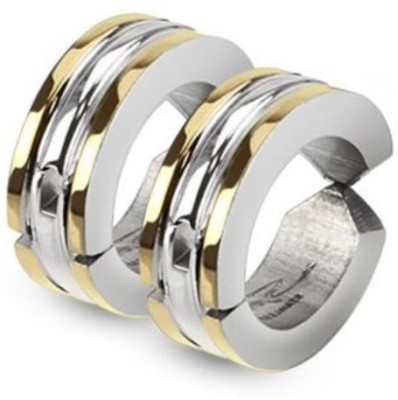 Vaishnavi Never Rusts Stays Life Long Stainless Steel Huggie Earring at flipkart