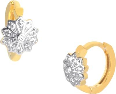 Orolush Brass Huggie Earring at flipkart