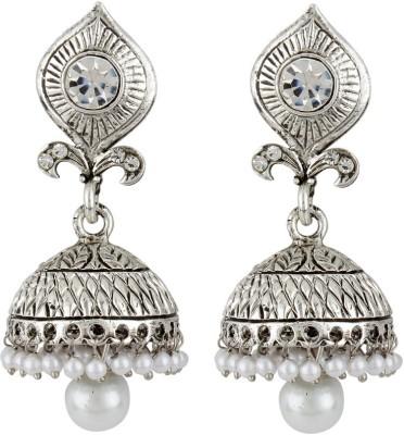 JEWELS GURU Diva Style Zircon Alloy Jhumki Earring JEWELS GURU Earrings