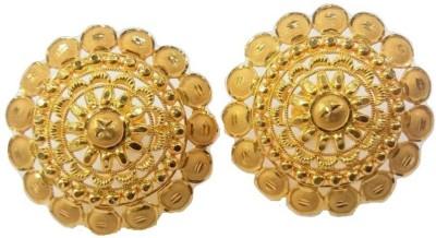 SREE ABHUSHAN Yellow Gold 22kt Stud Earring