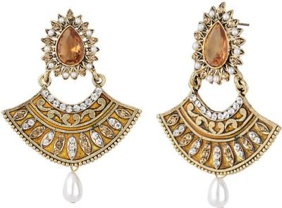 Styylo Fashion Diva Style Zircon Alloy Chandbali Earring at flipkart