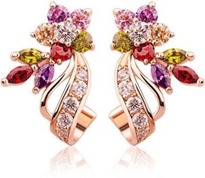 Jewels Galaxy Luxuria Earring Cubic Zirconia Alloy Dangle Earring