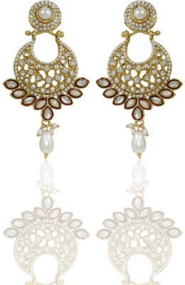 Frabjous Moon Light Alloy Drop Earring