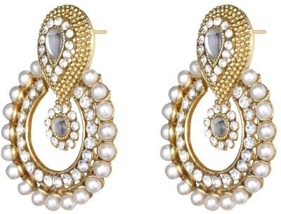 Jewels Gehna Beads Alloy Chandbali Earring at flipkart