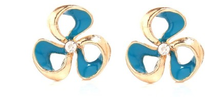 GoldNera Floral Summer Alloy Stud Earring GoldNera Earrings
