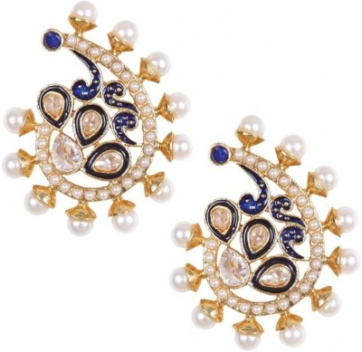 Rajwada Arts Brass Stud Earring at flipkart
