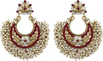 Grace Jewels GJ_ER_27 Alloy Chandbali Earring at flipkart