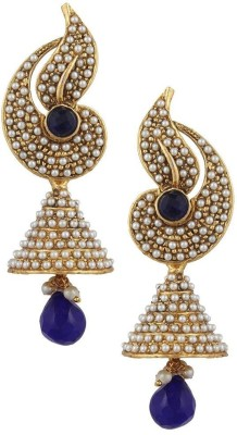 Styylo Fashion Diva Style Pearl Alloy Jhumki Earring at flipkart