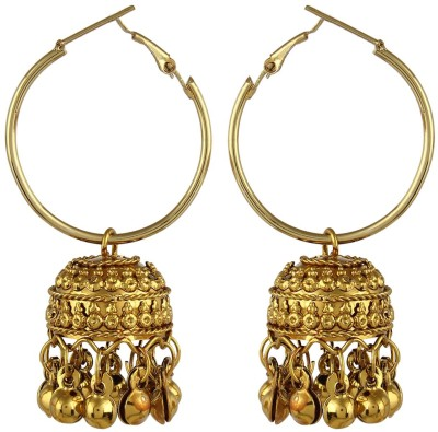 Crazytowear Bali style Alloy Hoop Earring at flipkart