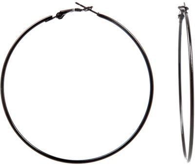 Tsquare Back in Black Big Size Alloy Hoop Earring Tsquare Earrings
