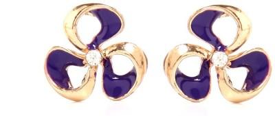 GoldNera Floral Spring Alloy Stud Earring GoldNera Earrings