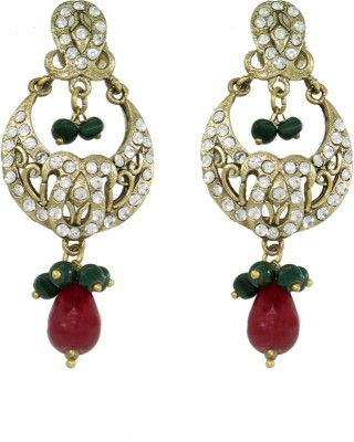 Frabjous Fierry Indiana Alloy Chandelier Earring