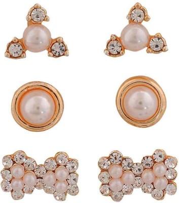 Maayra Fab Indian Crystal Alloy Stud Earring
