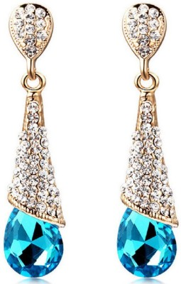 Up to 80% Off Blue Coloured Earrings Fashion Jewellery