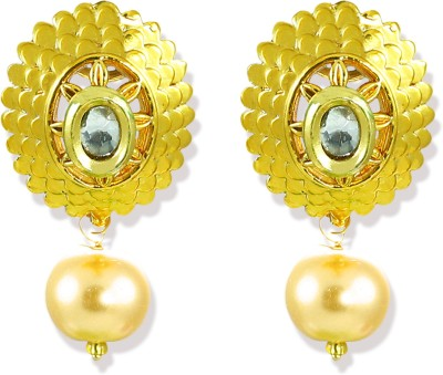 Zaveri Pearls Attractive Zinc Drop Earring at flipkart