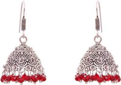 Kaizer Jewelry Princess Nickel Jhumki Earring at flipkart