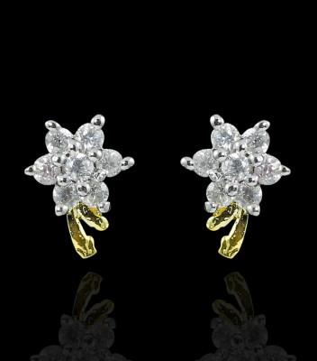 Zaveri Pearls Fashionable Brass Stud Earring at flipkart