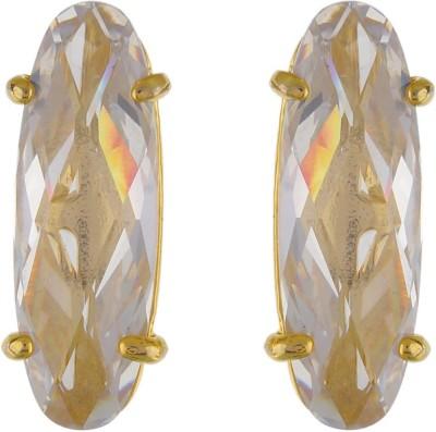 Aarushi Fashionable Cubic Zirconia Alloy Stud Earring Aarushi Earrings