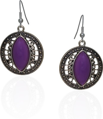 Frabjous Moon Light Alloy Dangle Earring