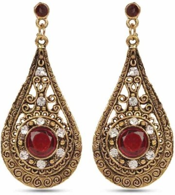 Hi Look Alloy Drop Earring  available at flipkart for Rs.195