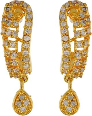 Aarushi Memorable Cubic Zirconia Alloy Drops   Danglers Aarushi Earrings
