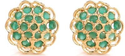 GoldNera Sadhana Brass Stud Earring GoldNera Earrings