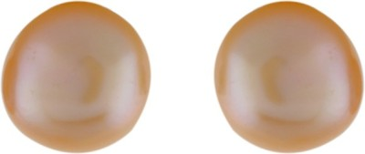 Aarushi Lovable Pearl Alloy Stud Earring Aarushi Earrings