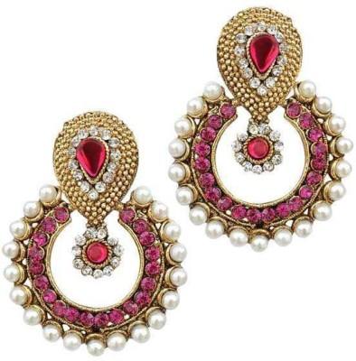 Jewels Capital Zircon Alloy Chandbali Earring Jewels Capital Earrings
