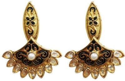 Aarnaa La Trendz Ethnic Mother of Pearl Drop Earring at flipkart