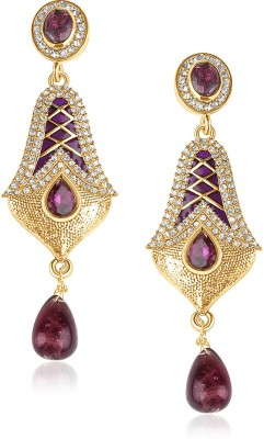 VK Jewels Brass Drop Earring at flipkart