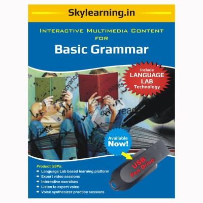 Skylearning.In Basic Grammar (Pen Drive)(Basic Grammar pendrive Combo Pack)  available at flipkart for Rs.1299