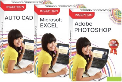 Inception Learn Auto Cad+Microsoft Excel+Adobe Photoshop (Inception Success Series - 3 Cds)(CD)