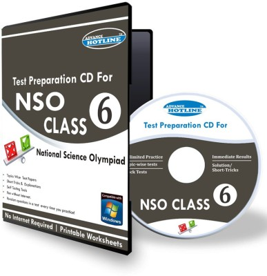 Advance Hotline NSO Class 6(CD) at flipkart