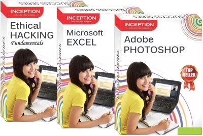 Inception Learn Ethical Hacking+Microsoft Excel+Adobe Photoshop (Inception Success Series - 3 Cds)(CD)