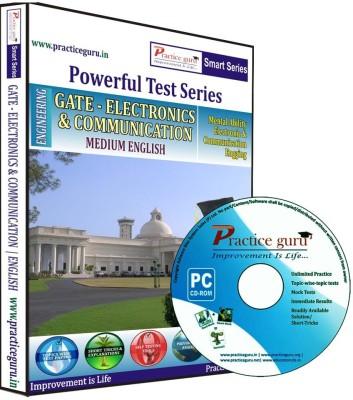 Practice Guru Powerful Test Series - GATE - Electronics & Communication Medium English at flipkart