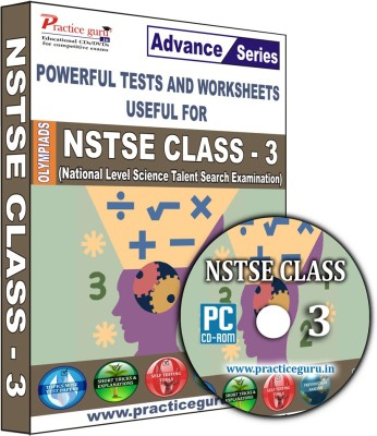 Practice Guru NSTSE Class 3(CD) at flipkart
