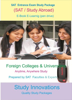 Study Innovations SAT Study Package(pendrive)  available at flipkart for Rs.2000