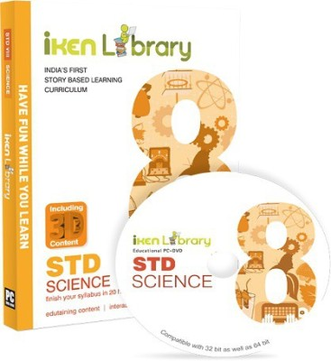 Iken Library DVD 8th Science(DVD)
