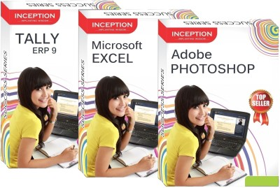 Inception Learn Tally Erp 9+Microsoft Excel+Adobe Photoshop (Inception Success Series - 3 Cds)(CD)